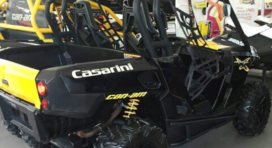 Can-Am, Commander, 1000, X, UTV, side-by-side, usado, Casarini, downtown