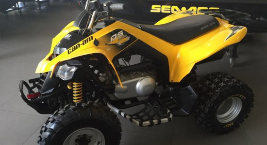 can-am, quadriciclo, atv, ds 250, agilidade, usados, casarini, downtown