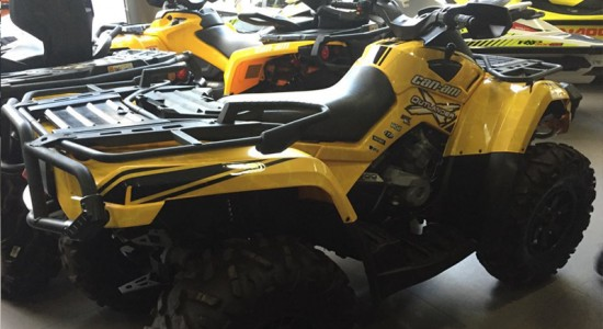 atv, quadriciclo, Can-Am, Outlander, 800, usado, Casarini, downtown