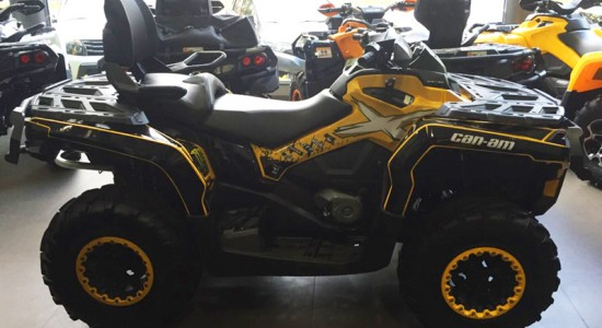 atv, quadriciclo, Can-Am, Outlander, 650, usado, Casarini, downtown