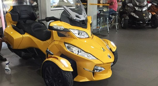 roadster, Can-Am, Spyder, RT-S, usado, Casarini, downtown