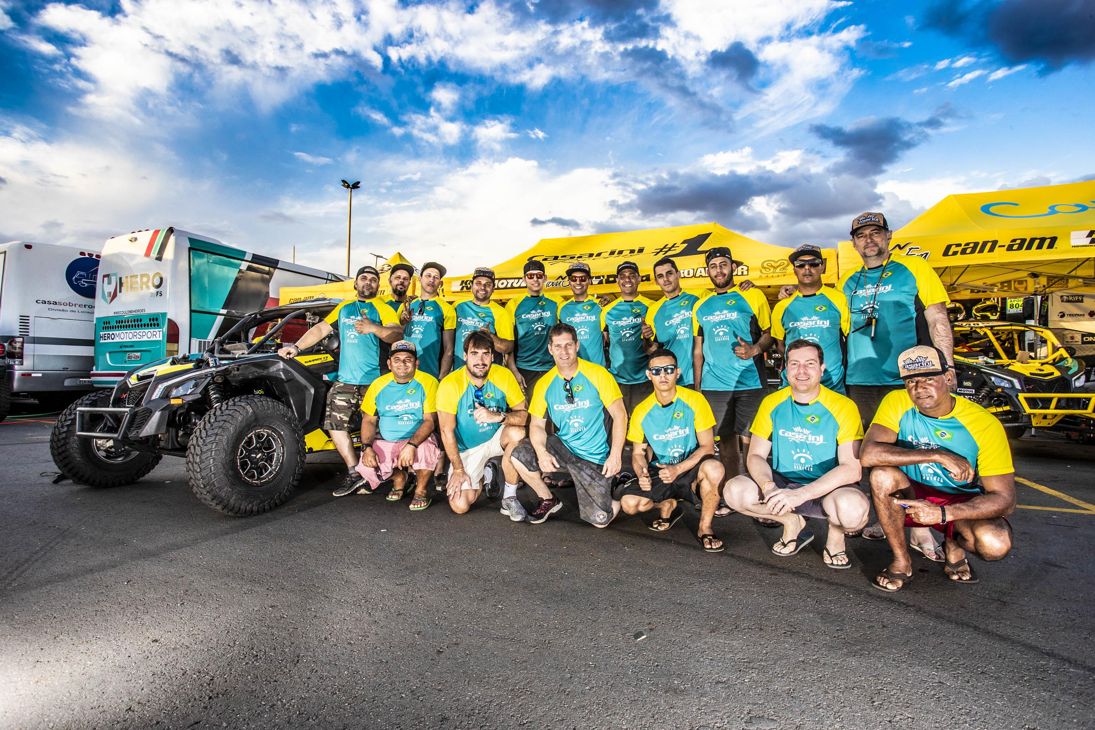 Equipe Casarini Racing - Rally dos Sertões 2018