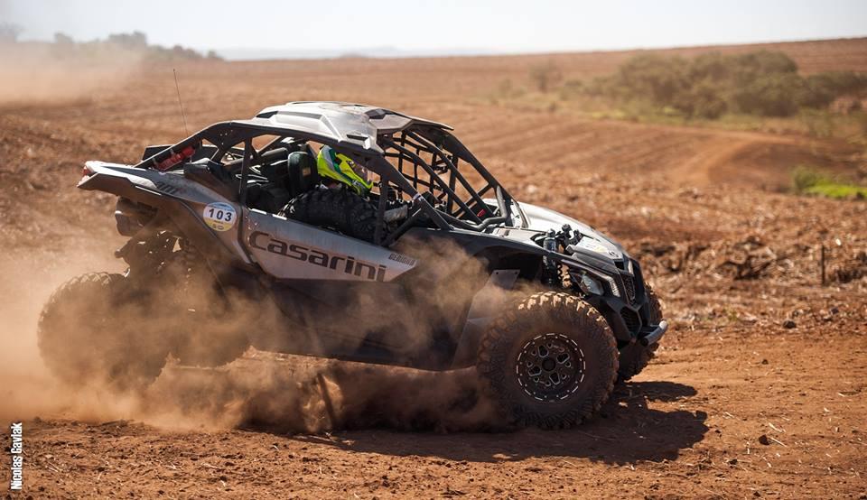 Deninho Casarini durante o Rally de inverno - Crédito: Nicolas Gavlak