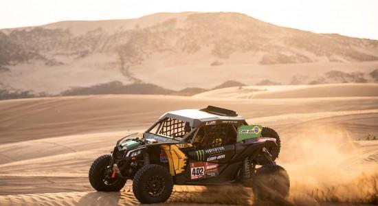 Reinaldo Varela e Gustavo Gugelmin representam o Brasil no Rally Dakar 2020, na Arábia Saudita. Crédito: MCH Photography